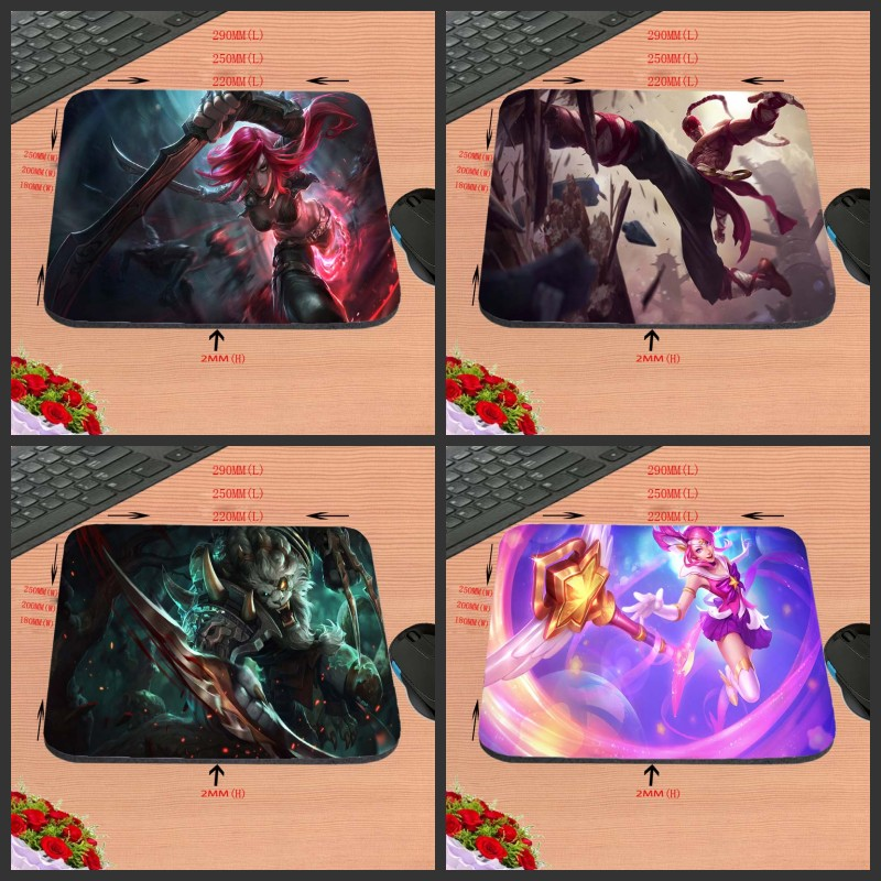 2019 Fashion Mairuige Custom Silicon Anti-slip Gaming For Lol Mousepad Computer Mouse Pad Mat For Optical Mice Trackball Mouse As A Gift