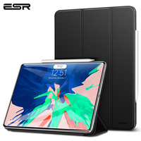 ESR Magnetic Smart Case for iPad Pro 12.9 2018 Cover Trifold Stand Magnet Case Auto Sleep/Wake Rubberized Cover for iPad Pro12.9