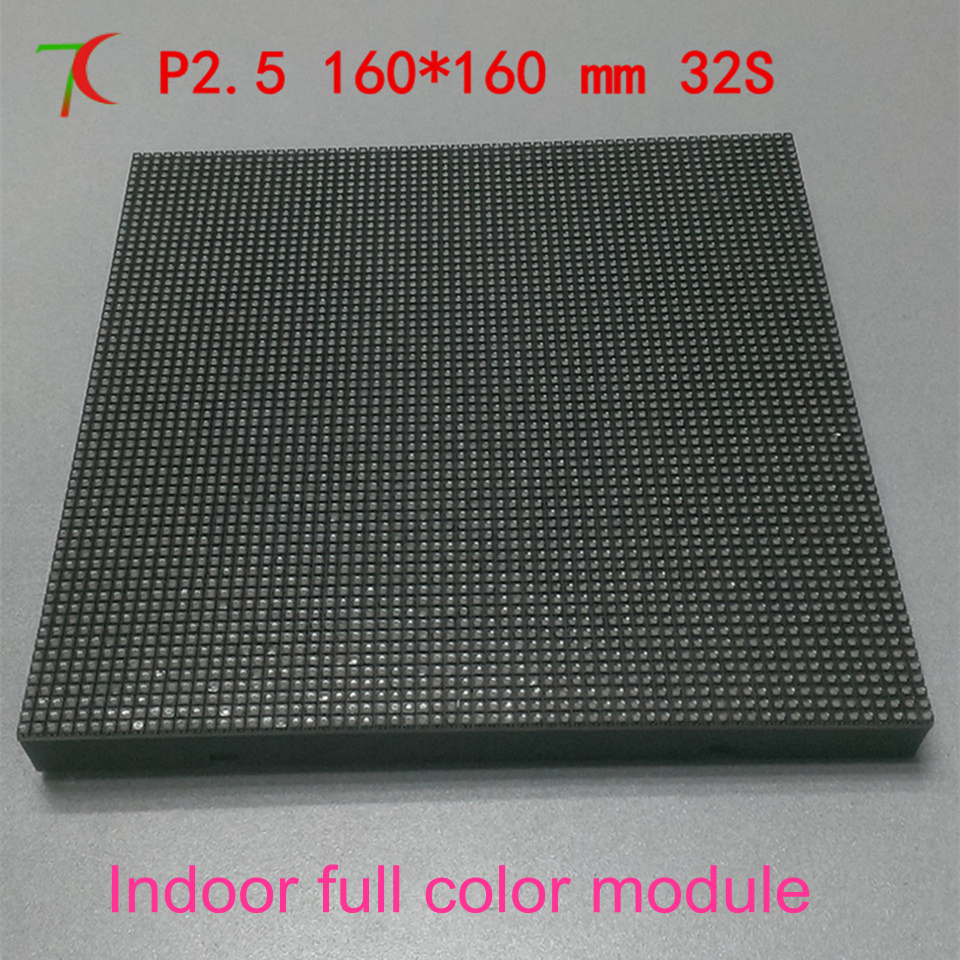 Watch  P2.5  32scan Indoor Full  Color Module For Video Wall