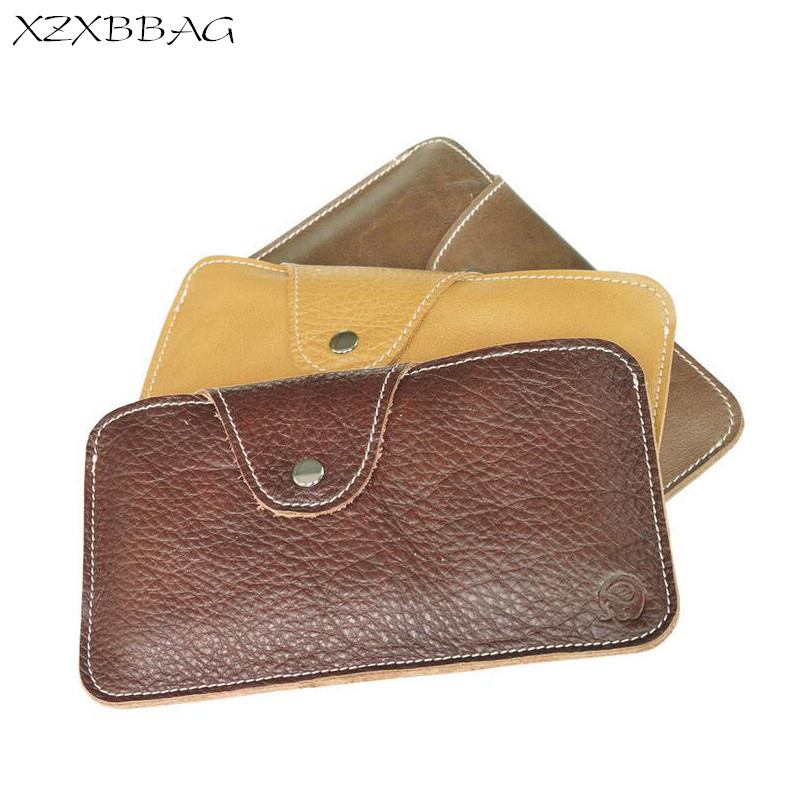 XZXBBAG Genuine Leather Coin Wallet Men Casual Big Capacity Wallet Male Change Purse Money Bag Hasp Mobile Phone Bag Zero Wallet xzxbbag fashion female zipper big capacity wallet multiple card holder coin purse lady money bag woman multifunction handbag
