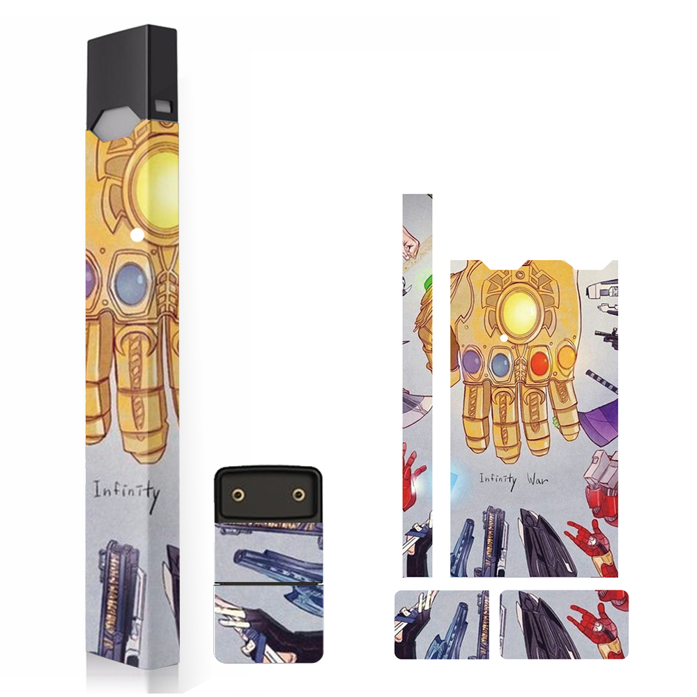 SHIODOKI 2 Pack Juul Skin Decal for Pax JUUL 2 5D Technology Ultra Thin Protective Sticker