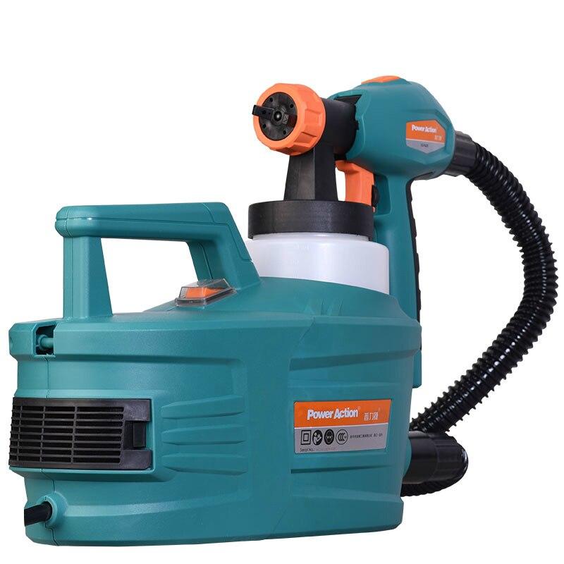 1200W Electric Painter Spray Gun 800ML Latex Paint Sprayer 1.8m Spray Hose For Car House Painting Machine HVLP Paint Sprayers