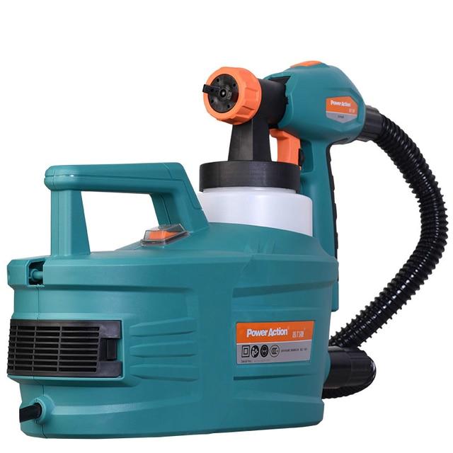 1200w Electric Painter Spray Gun 800ml Latex Paint Sprayer 1 8m