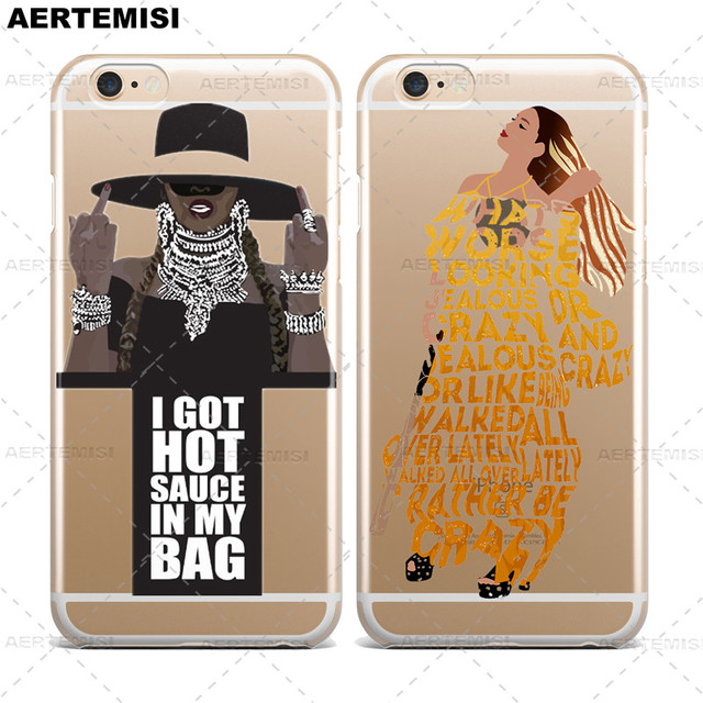 5ec2ac15c8f Phone Cases Beyonce Lemonade Hold Up Formation Crystal Clear Transparent  TPU Case Cover for Apple iPhone