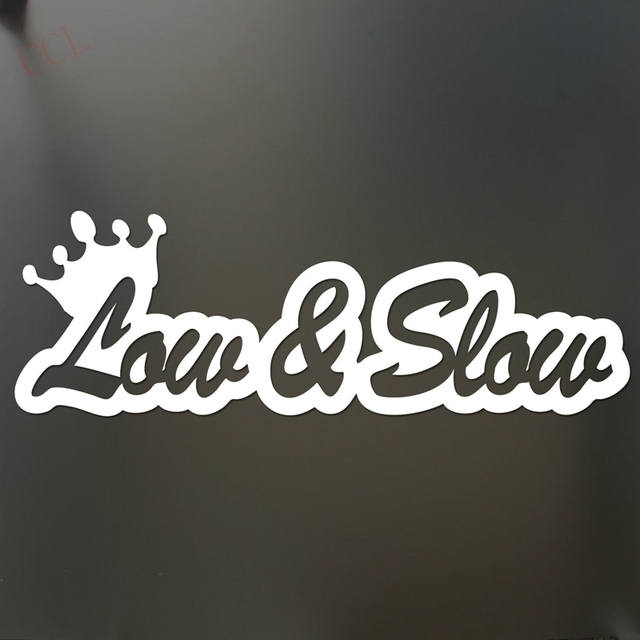 Low And Slow Sticker Funny JDM Acura Honda Lowered Car Truck - Acura stickers