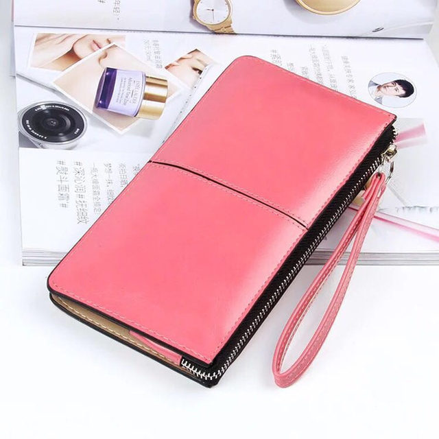 Candy Oil Leather Wallets 2