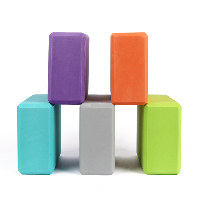 Colorful Yoga Blocks