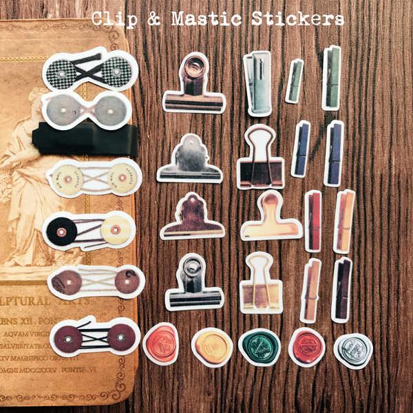 Милые Креативные зажимы мастические стикеры s Декоративные Стикеры для