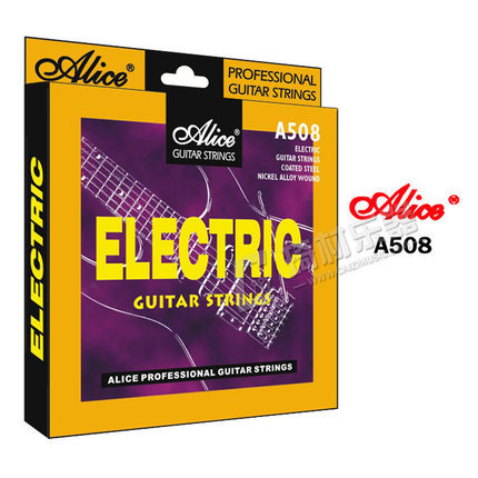 Alice A508 Super Light Electric Guitar Strings Plated Steel Nickel Alloy Wound Strings, Single Strings Also Available