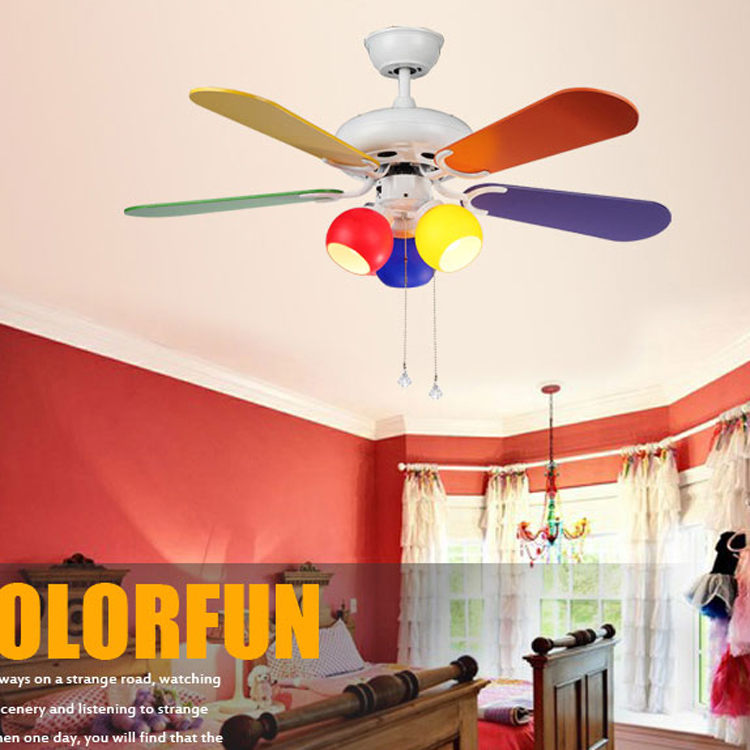 Ventilatore Da Sofo Modern Ceiling Fans Light For Child Kids Bedroom Living Room Fan Fashion With In From Lights