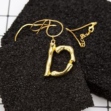 aba37ba0c12b A-Z moda personalizada letra alfabeto colgante collar oro Color cadena  inicial babero collares dijes para mujer joyería