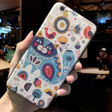 Luxury 3D Emboss Painted Animal Case For iphone XS MAX XR X XS 10 7 8 6 6s Plus Case Ring Bracket Soft Silicone Capa Back Coque(China)