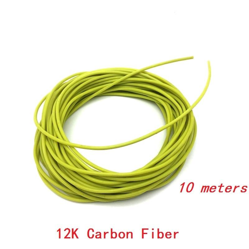 Minco WÄrme 10 Mt Elektrische Carbon Faser Heizung Kabel Warmen Boden Draht 33ohm/m Infrarot Heizung Boden Heizung Beleuchtung Zubehör Drähte Und Kabel