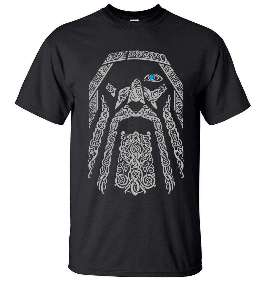 d873dbab041 TV Show Odin Vikings Fashion Men T Shirts 2019 Summer Cool Short Sleeve T- Shirt