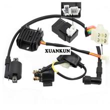 XUANKUN внедорожные аксессуары для мотоциклов 150-250 двигатель все-автомобиль электрооборудование реле зажигания Высокая изобарическая упаковка