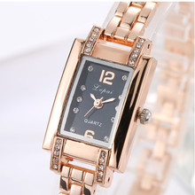 women watches Fashion Ladies Women Unisex Stainless Steel Rhinestone Quartz Wrist Watch