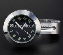 "Chrome 7/8""- 1″ Handlebar Clock for Honda Shadow VT X 750 1300 CBR 600 1000 F4i F4 F3 Suzuki Hayabusa Boulevard Intruder VL VS"