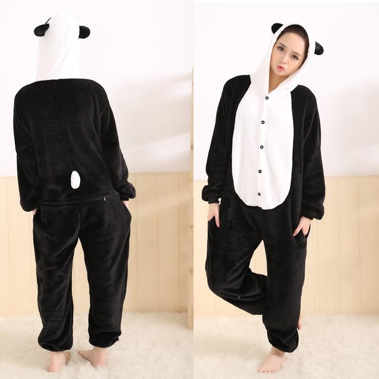 a974ddbcb China treasure Panda Hooded Onesies For Adult Cute Animal Pajamas ...