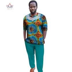 Африка Стиль 2019 Индивидуальные брюки костюмы для Для мужчин Дашики плюс Размеры деним мужской костюм модные традиционные африканские