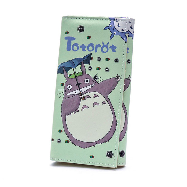 Women Wallets PU Leather Totoro (8 design)
