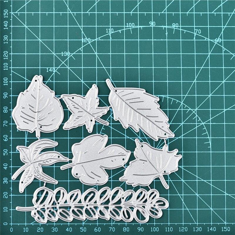 Naifumodo Leaves Dies Wheat Metal Cutting Dies for Card Making Scrapbooking Embossing Die Cut Stencil Craft New 2019 for Dies