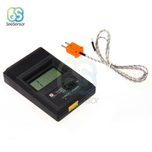 цена на TM-902C TM902C Temperature Meter Digital Thermometer K Type Thermometer Sensor Thermocouple Probe Detector -50C to 1300C