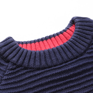 Image 3 - New Styles Childrens Clothing Child Sweater O neck 100%cotton Sweater Boy Spring and Autumn Pullovers for Kids 4 16 Years