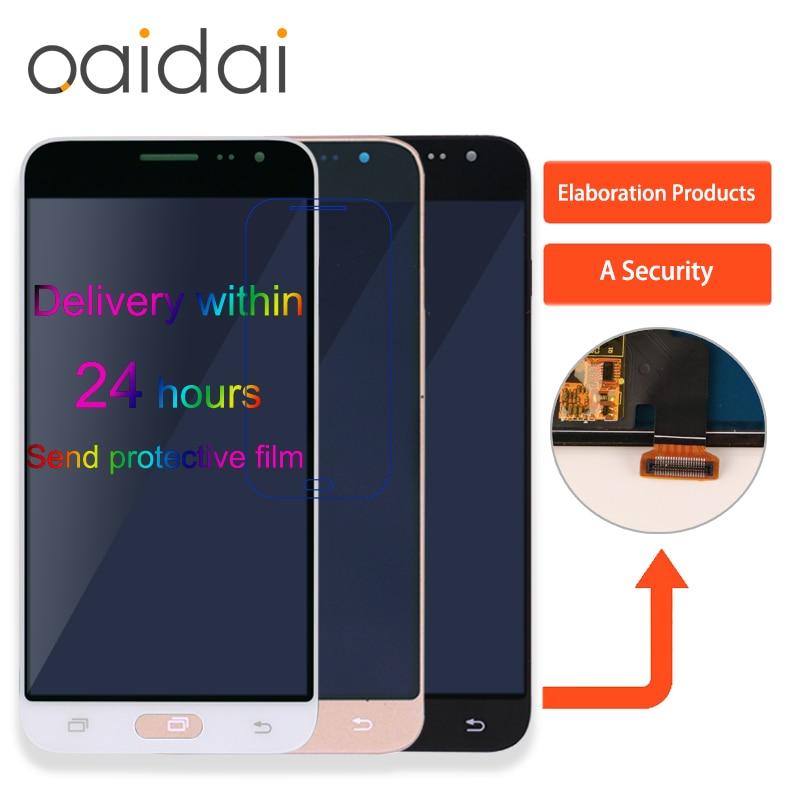 Display LCD Para Samsung Galaxy J3 2016 J320 J320F J320M J320FN Display Lcd Touch Screen Digitador Peças de Reposição Do Telefone Móvel