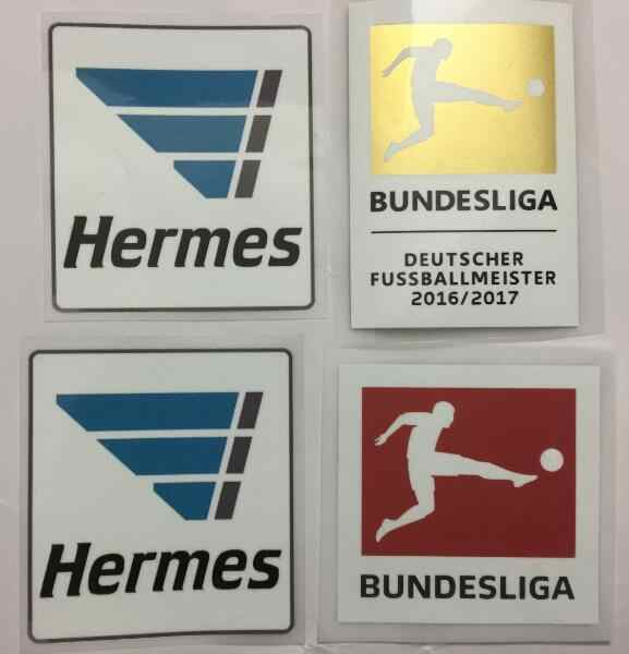 17 18 NIEUWE bundes liga patches kampioen patches BUNDESLIGA voetbal Patch Duitsland League voetbal PU materiaal patch