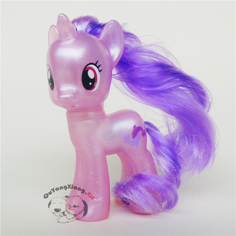 P8-042 Action Figures 8cm Little Cute Horse Model Doll Two fish Brilliant Anime Toys for Children(China)