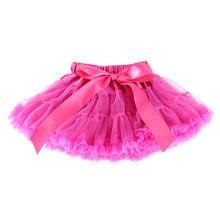 f7c814c7a19eb Bébé Petites Filles Tutu Jupes Enfant Ruches Fluffy Pettiskirts Ballet Danse  Tulle Gâteau Jupes 1-