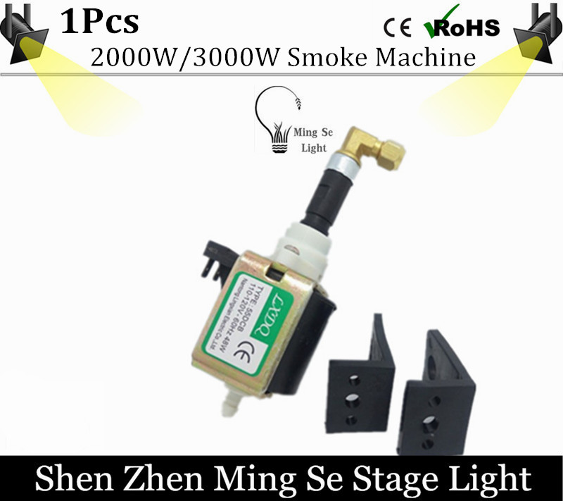 Free Shipping 48W Pump smoke machie 2000W/3000W oil pump dedicated 55DCB AC110-240V oil pump stage fog machine manka care 110v 220v ac 50l min 165w small electric piston vacuum pump silent pumps oil less oil free compressing pump