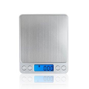 500g x 0 01g wysoka dokładność przenośna waga Mini wagi elektroniczne cyfrowa kieszonkowa biżuteria kuchenna wagi maszyna do ważenia tanie i dobre opinie Skala kieszeni i2000-500g 2*AAA batteries(not include) 12 5cm*10 5cm*1 5cm ACCT Digital Electronic Pocket Scale Silver Digital scale 0 01g