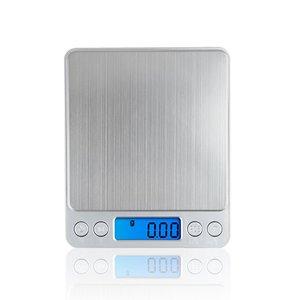 Image 1 - 500g x 0.01g wysoka dokładność przenośna waga Mini elektroniczna waga cyfrowa kieszonkowa biżuteria kuchenna waga maszyna do ważenia