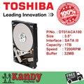 Toshiba DT01ACA100 1 ТБ hdd 3.5 SATA 3 настольных диско duro внутренний sabit жесткий диск interno hd жесткий диск disque дур интерн