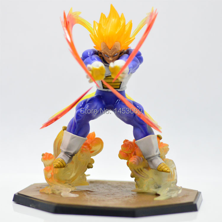 Retail Wholesale <font><b>Anime</b></font> <font><b>Dragon</b></font> <font><b>Ball</b></font> Z <font><b>Super</b></font> <font><b>Saiyan</b></font> <font><b>Vegeta</b></font> Battle State Final Flash PVC Action Figure Collectible Model Toy 15CM