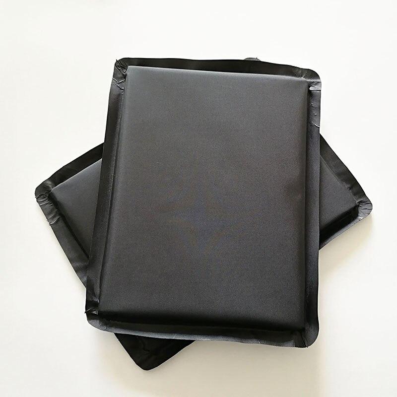 6''X8'' Bullet Proof Soft Panel Lvl NIJ IIIA 3A Body Armor Inserts Safety Plate Aramid Core Ballistic Plate two Pieces цена и фото