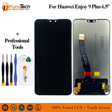 100% Tested AAA LCD Display For Huawei Y9 2019 For Huawei Y9 2019 Enjoy 9 Plus Display LCD Screen Touch Digitizer Assembly Parts цена 2017