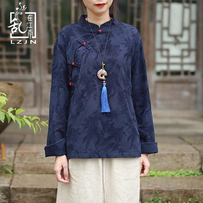 Linen Button Fashion Chinese