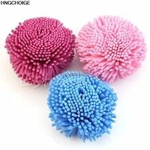 1pc Loofah Soft Felling Bath Shower EVA Sponge Brush Puff Ball Easy Exfoliation New