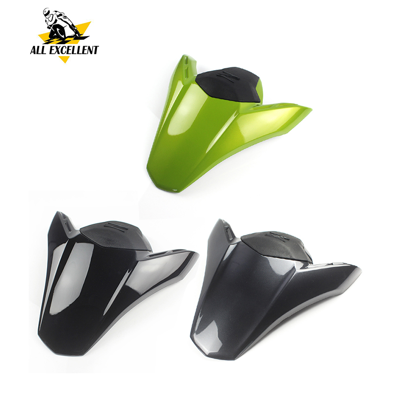 Motorcycle Rear Passenger Pillion Solo Seat Cowl Hard ABS Motor Fairing Tail Cover for 2017 Kawasaki