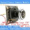 4in1 1 2 71920 1080 Mini AHD Camera Module 2MP 1080P 360 Degree Wide Angle Fisheye