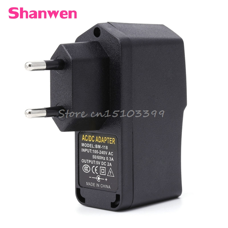 AC 100 240V DC 5V 2A 10W EU Plug USB Switching Power Supply Adapter Charger G205M