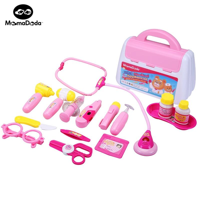 Play Toys For Girls : Aliexpress buy pcs set child medical kit doctor
