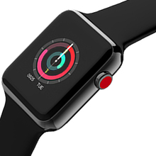 New bluetooth smart watch Series 3 42mm font b smartwatch b font case for apply iphone