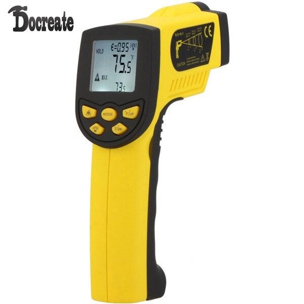 HoldPeak HP-1300 -50-1300C IR Laser Thermometer Temperature Gun holdpeak hp 760g 1000volt