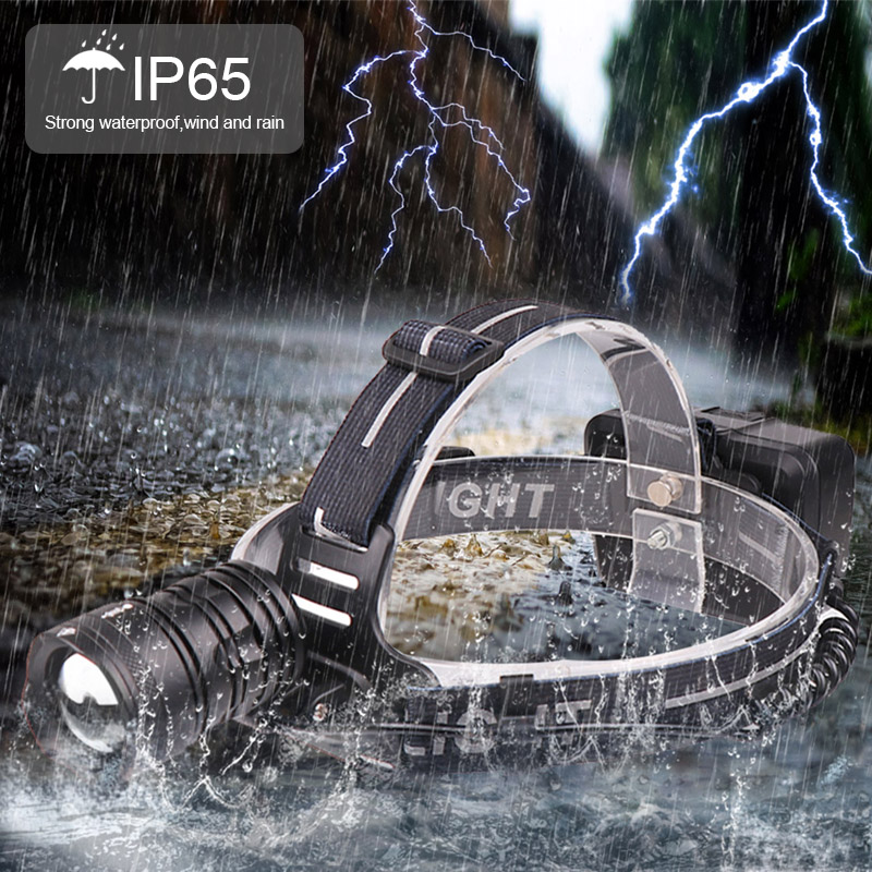 Купить с кэшбэком 7000lm xhp70.2 headlight Super Bright Led Headlamp usb Rechargeable Head Torch xhp70 lantern 3*18650 battery fishing camping