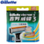 Gillette originais vector 3 navalha de barbear lâminas de barbear para homens lâmina de barbear 8 unidades/pacote
