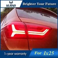 2Pcs Tail Lights For Hyundai Creta 2015 LED IX25 Tail Lamp Flash Signal Stop Rear Lamp