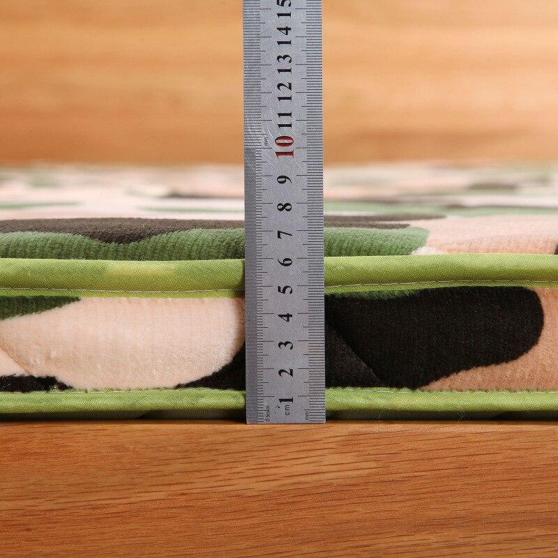 6 cm thickness flannel velvet camouflage mattress tatami hotel tatami mat mattress bedding Home Textile